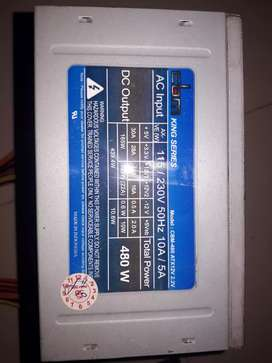 PSU gaming CBM king series 480watt