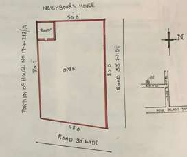 A plot in the middle of the Hyderabad in tadbun 416 sq feet
