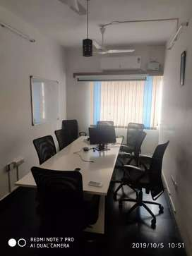 1000Sqft Furnished Office Space available for rent in RS Puram