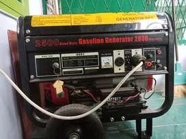 Genset 2500 watt mantap