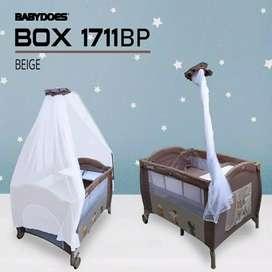 Jual box bayi/tempat tidur bayi murah Baby Does