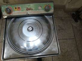 Solid steel body washing machine like new for sale