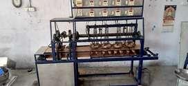 Khakhara pressing & rosting machines