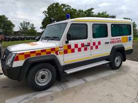 Force Trax Ambulance BS6 Fresh condition
