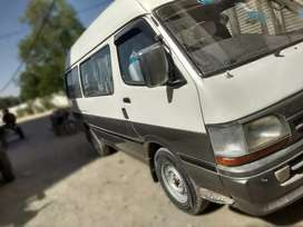 Toyota hiace for rent.
