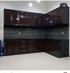 Ready stok kitchen set aluminium bahan bagus gan