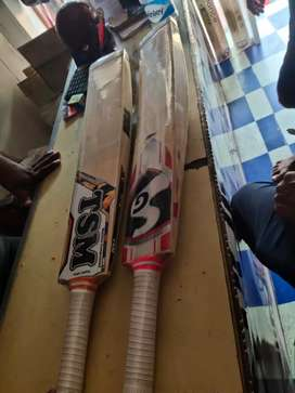 English willow cricket bat for lether ball use