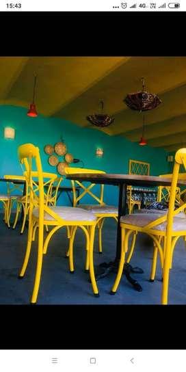 Brand new restaurant four seater furniture