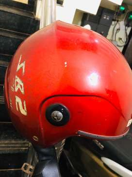Used Helmet without front glass