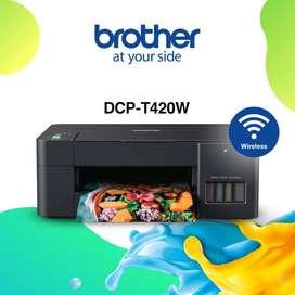 printer brother t420w , Terima servis pinter