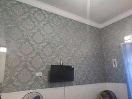Wallpaper dinding motif nya timbul dan murah