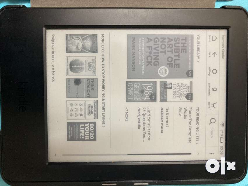 Kindle 7th Gen (First class condition) without Backlit