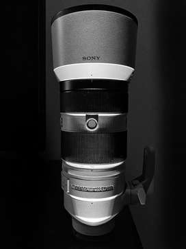 Sony 100-400mm G Master Lens Unused Condition with Documents