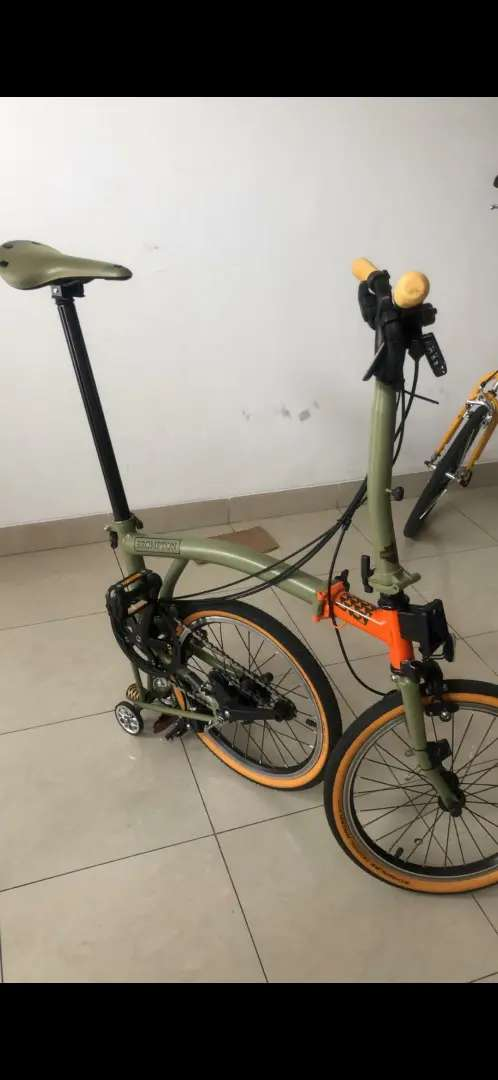 Brompton explore / explorer 2019 m6e second like new, mulus banget 0