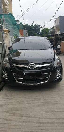 Mazda 8 hitam service record th 2012