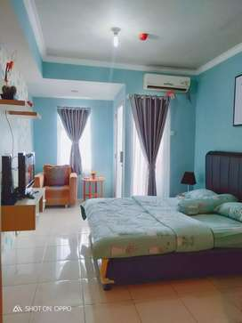 Sewa apartemen great western resort, studio full furnish, free wifi