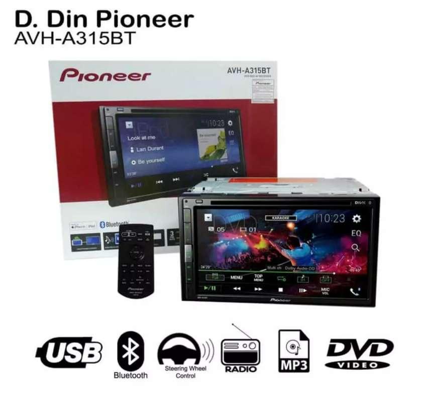 D.Din Pioneer AVH-A315 BT - Car Audio MirrorLink - Dinasti Audio 0