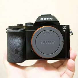 Sony a7 mulus like new