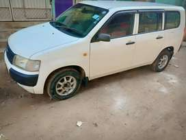 Toyota Probox 2007 registered 2012. Used as Family Car.