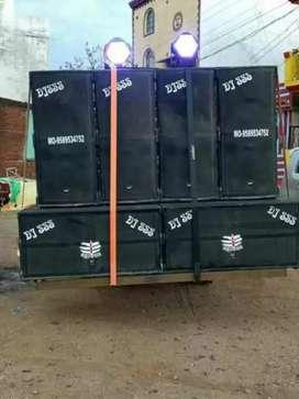 d j sound bechna h 15000 watt new set
