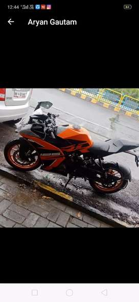 Want to sell my new Ktm 125CC brand new only 400km driven