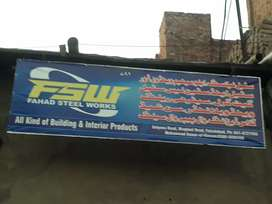 Factory hall for rent on Maqbool Road Satiana Road Fsd.
