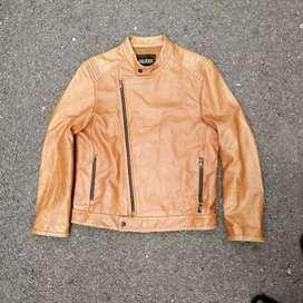 Jaket kulit Guess original Size l