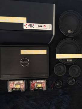 Power peerless , Subwoofer Cello , 3way fonalivo ^_^