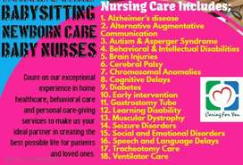 babysitters and nannies will deliver professional and responsible care
