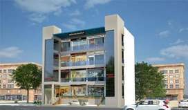 New building bare shell at malviya nagar for banks and mnc