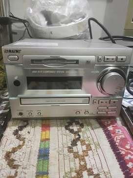 Sony Japani Amplifier with speaker set
