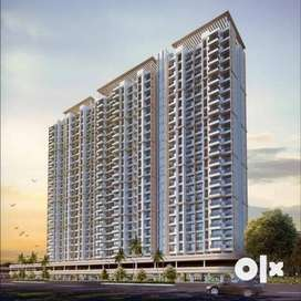 *For sale In ₹ 45Lacs * Ghodbuder Road, Thane % 1BHK-370 Sqft*