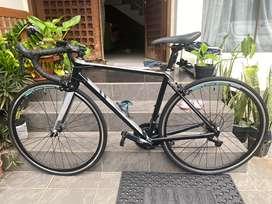 Pake Komplit Sepeda Balap Roadbike RB Polygon Stratos s3