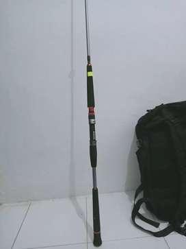 Rod seahawk reel awa-shiwa 6000 baru
