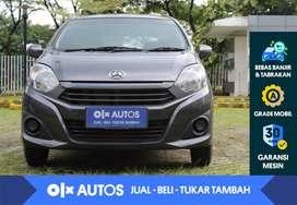 [OLX Autos] Daihatsu Ayla 1.0 M M/T 2017 Abu-Abu