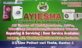 Ayiesha Refrigeration And Air conditioning works