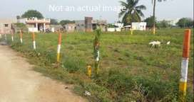 Sale of Plots opp to Thenthirupathi Temple