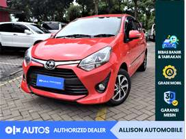 [OLX Autos] Toyota Agya 2018 1.2 G AT Merah #Allison