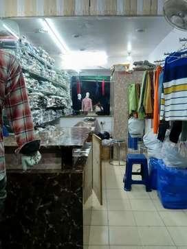 Shop in prime location Govind nagar for sale