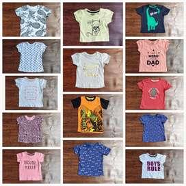 Boys tshirt Girls frock export surplus Tiruppur trunk