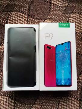 Oppo F9 4gb ram 64gb rom with box