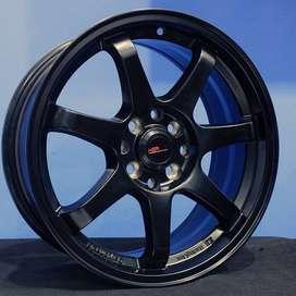 jual velg type GTR SPORT 994 HSR Ring.16 Lebar.7 PCD.4X100-4X114,3 ET.
