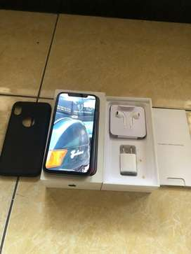 Iphone x 256gb space grey mulus