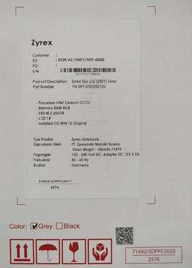 Leptop Zyrex Sky 232 (2021) Gray N3350