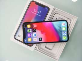 IPhone X space gray 64Gb in warranty