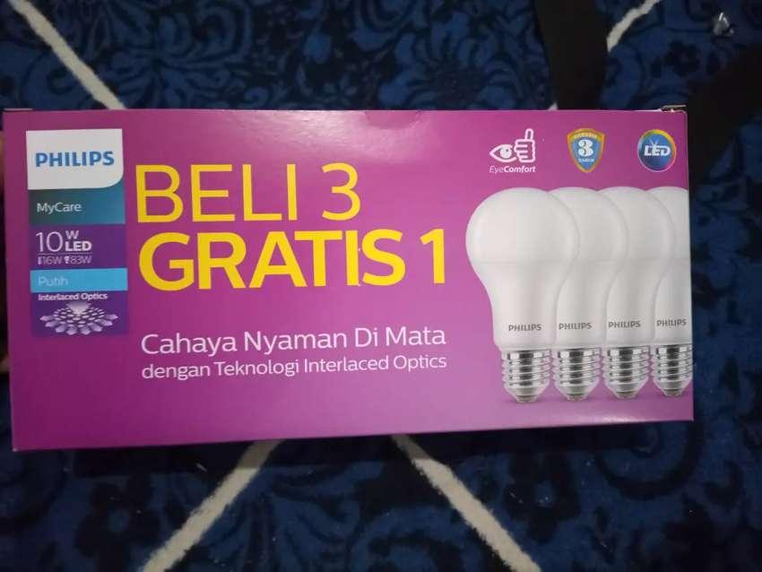 Lampu Philips LED 10 watt paket 4pcs