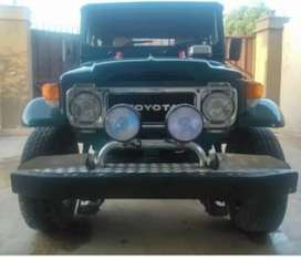 Toyota modified jeep
