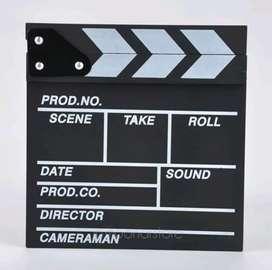 Clapper Board Film   Clapperboard Papan Shooting Movie On