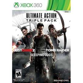 Xbox 360 Ultimate Action Triple Pack