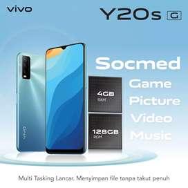 Vivo Y20s G type terkini , RAM besar, baterai tahan lama,design keren